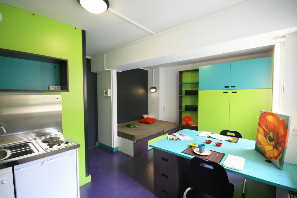 Mobilier pour les r sidences tudiantes et les internats for Chambre universitaire paris