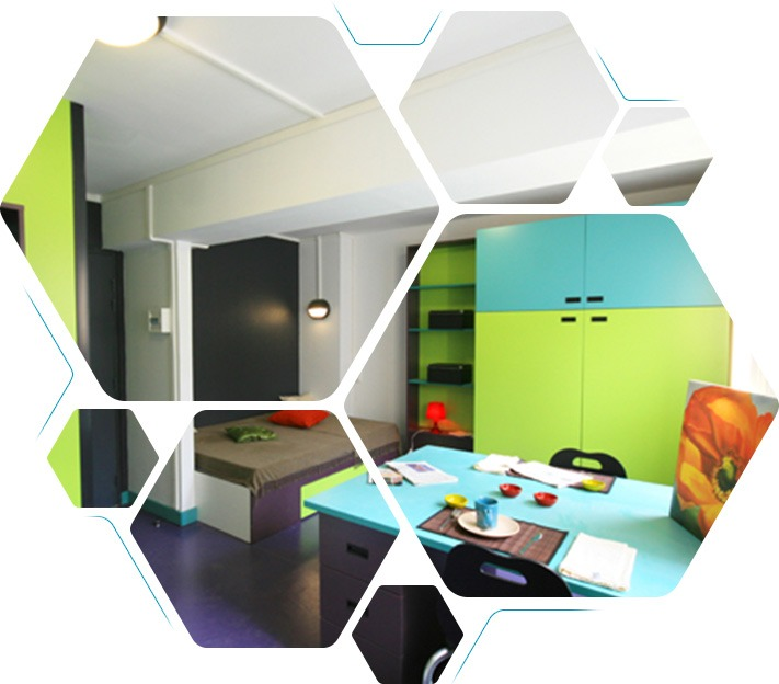 Les résidences étudiantes et les internats