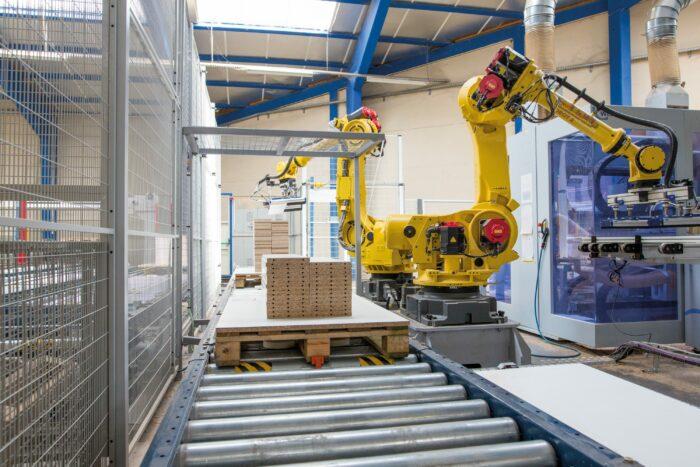 La modernisation encore et toujours dans l'usine EUREQUIP !